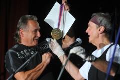12 Synkopy 61 - 50 let, předání diplomu a medaile